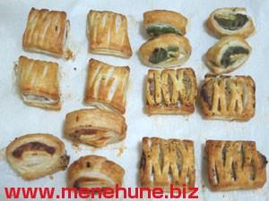 4種のミニパイ(焼き上がり)