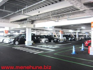 イオンモール多摩平の森駐車場内(3階)
