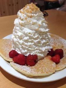 Eggs 'n Things江ノ島店のパンケーキ