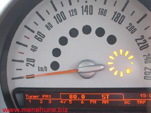 給油ランプ(満タン)