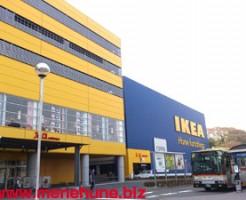 IKEA港北店のエントランス