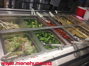 イケア港北レストランのサラダ