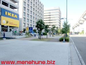 IKEA立川店駐車場の混雑状況1