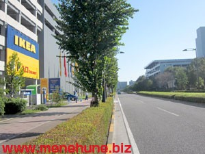 IKEA立川店駐車場の混雑状況2