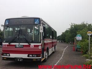 泉町無料隔地駐車場の無料シャトルバス