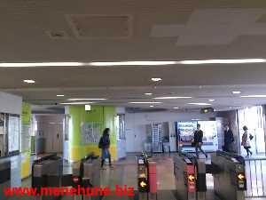 多摩都市モノレール高松駅の改札