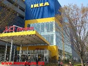 IKEA立川店のメインエントランス