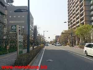 IKEA立川店付近の道路
