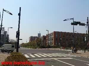 IKEA立川店付近の交差点