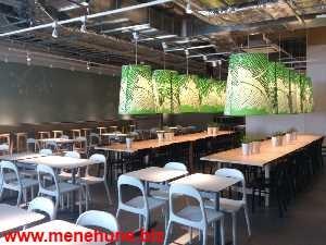 IKEA立川店レストランの飲食スペース